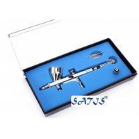Buy cheap New Dual Action Airbrush and Spray Gun for Makeup Nail Art Tattoos Body Cake Toy Models from wholesalers