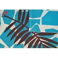 Buy cheap Swinsuit Polyester Spandex Fabric For Underwear , Printed 85 Polyester 15 Spandex Fabric from wholesalers