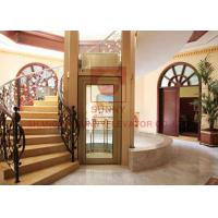 Buy cheap High Safety Residential Home Elevators 0.4m/S Speed For Apartment 12 Months Warranty from wholesalers