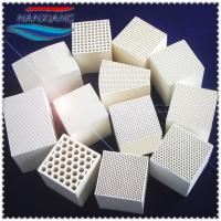 Buy cheap Manufactory Sale Honeycomb Ceramic Monolith, Heat Exchange Ceramic Honeycomb Block from wholesalers