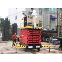 Buy cheap 6m to 18m Full electric self propelled scissor lift for commercial from wholesalers