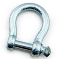 Buy cheap European Type Galvanized Carbon steel Forged Bow shackle from wholesalers