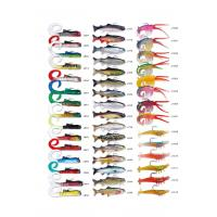 Plastic high quality  fishing soft lures  Worm
