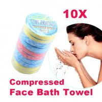 Buy cheap Magic Compressed Portable Mini Outdoor Travel Compressed Face Towel Compressed Hand Towel from wholesalers