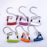 Buy cheap Colorful Scuba Diving Accessories , Single Head Wire Core Lanyard Reef Hook from wholesalers