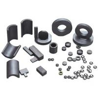 Buy cheap Permanent brittle and hard Ferrite Magnets ring , arc , cylindrical for Speaker from wholesalers