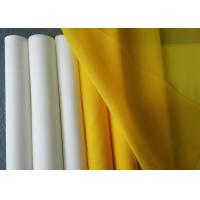 Buy cheap 110 Microns Polyester Printing Mesh , Durable Monofilament Polyester Mesh from wholesalers