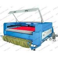 Buy cheap co2 laser fabric cutter with auto feeding system from wholesalers