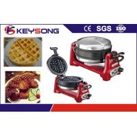 Buy cheap 304 Automated Bakery Equipment Rectangle and Heart Shape Waffle Maker from wholesalers