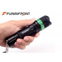 Buy cheap Outdoor CREE T6 Zoom Led Flashlight, Tactical Led Torch Handheld Adjustable Focus from wholesalers