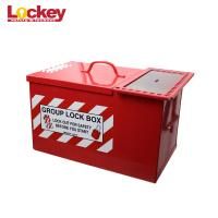 Buy cheap Rust Resistance Lock Out Tag Out Key Box Heavy Duty Steel Box With Multiple Locks from wholesalers