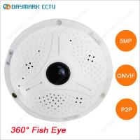 Buy cheap Digital PTZ Free CMS 360 degree Panoramic IP 5MP CCTV Camera from wholesalers