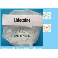 Buy cheap White Powder Local Anesthetic Powder Lidocaine CAS 137-58-6 For Pain Killer Lidocaine Base from wholesalers