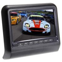 Buy cheap 9 HD Digital Car Pillow Monitors Chinese And English OSD Removable Design from wholesalers