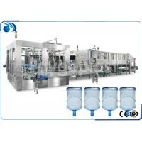 Buy cheap Automatic 3 /5 Gallon Water Bottle Filling Machine , Mineral Water Filling Machine product