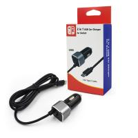 Buy cheap Factory Supply High Quality 2 in 1 Nitnendo Switch Car Charger Mobile Charger from wholesalers