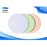 Buy cheap 4 5 Round Type D Fiber Optic Polishing Film 3 Mico Meter Soft Hardness from wholesalers