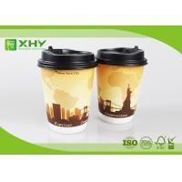 Buy cheap 12oz 400ml FDA Certificated Eco-friendly Double Wall Paper Cups with Lids from wholesalers