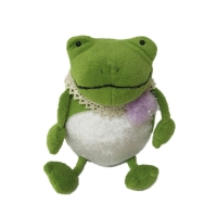 Buy cheap Green Frog Prince Animal Plush Toys Baby Plush Toys For Home Decoration from wholesalers
