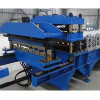 Buy cheap High Efficiency Standing Seam Roll Forming Machine 13 Rows Roller Station from wholesalers