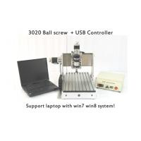 Buy cheap 3 Axis Laptop Mini CNC Router , Ball Screw CNC Router Machine USB CNC3020B from wholesalers