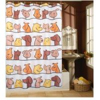 Buy cheap DOG 100% Polyester Shower Curtains from wholesalers