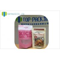 Buy cheap BPA Free Zipper Closure PET/PE Food Pouch Packaging Individual Logo product