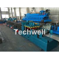 Buy cheap Galvanized / Carbon Steel CZ Shaped Roll Forming Machine For 0-15m/min Forming Speed from wholesalers