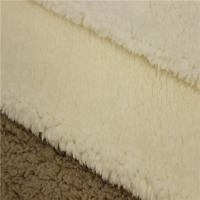 Buy cheap New fashion Weft Knitted Cotton 100% Polyester Sherpa Fleece Fabric Made In China from wholesalers