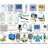 Buy cheap room thermostat,  digital thermostat,  hvac thermostat,  trane,  motorized valve,  temperature sensor,  communicating thermostat,  thermostatic radiator valve from wholesalers