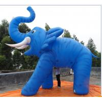 Buy cheap customized giant advertising lighting inflatable elephant balloon from wholesalers