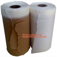 Buy cheap PAPER Adhesive Tape Masking Film For Car Painting, Speedy Mask - Indoor (2700mm) 20m with Masking Tape, RICE PAPER PAC from wholesalers