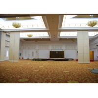 Buy cheap Wooden Office Partitions Panels Meeting Room Partition Single / Double Door product