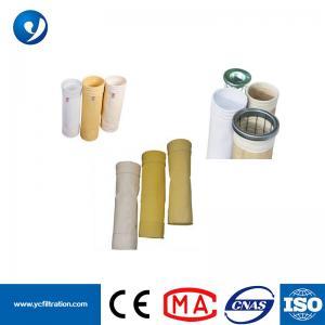 China High Quality Baghouse Filter Bag Aramid Filter Bag / Nomex Filter Bag on sale