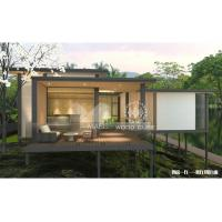 Buy cheap Reliable Modern Style Modular Homes , Aluminum Alloy Cover Contemporary Prefab Houses from wholesalers