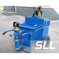 Buy cheap High Efficiency Cement Mortar Spraying Machine Double Cylinder Piston Pump product