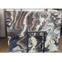 Buy cheap Decorative Natural Stone Slabs Fantaxy Landscaple Pattern Above 85 Gloss from wholesalers