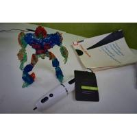 Buy cheap Adjustable Magic Cool Ink 3D Printing Pen / Green Air Writing Pen product