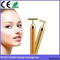 Buy cheap 24k golden beauty bar cellulite face neck electric roller massager from wholesalers
