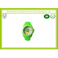 Buy cheap Sweet Europe Kids Cartoon Watches , Green Water Resistant Watches from wholesalers