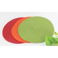 Buy cheap Woven round dining placemat , dining table mat product