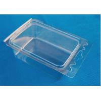 Buy cheap Transparent Vacuum Thermoforming Products Plastic PP Fruit Tray OEM Service from wholesalers