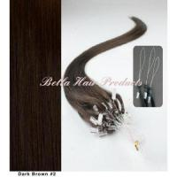 Buy cheap Hair Extensions  Micro Ring 100% Human Hair from wholesalers