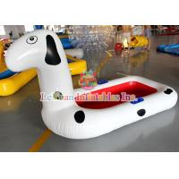 Buy cheap Spotty Dog Inflatable Water Toys With Printing Company Name PVC Tarpaulin from wholesalers