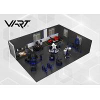 Buy cheap 9D VR Egg / Car Simulator Virtual Reality Space Themed for Play Game from wholesalers