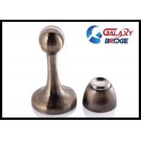 Zinc Alloy Decorative Floor Door Stoppers Catcher Anti Copper Magnetic Type