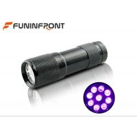 Buy cheap 395nm Ultraviolet Pet Urine Detector 9 LED Black Light LED Flashlight from wholesalers