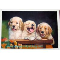 Buy cheap oil painting, dog oil painting, pets oil painting from wholesalers
