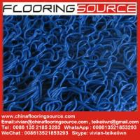 Buy cheap High quality soft PVC Loop Coil Matting Anti-slip and Dust Control Matting for wet areas or entrance areas from wholesalers