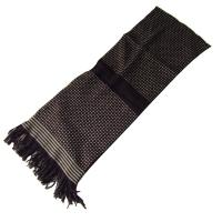 Buy cheap Fashion grid pattern men knitted scarf from wholesalers